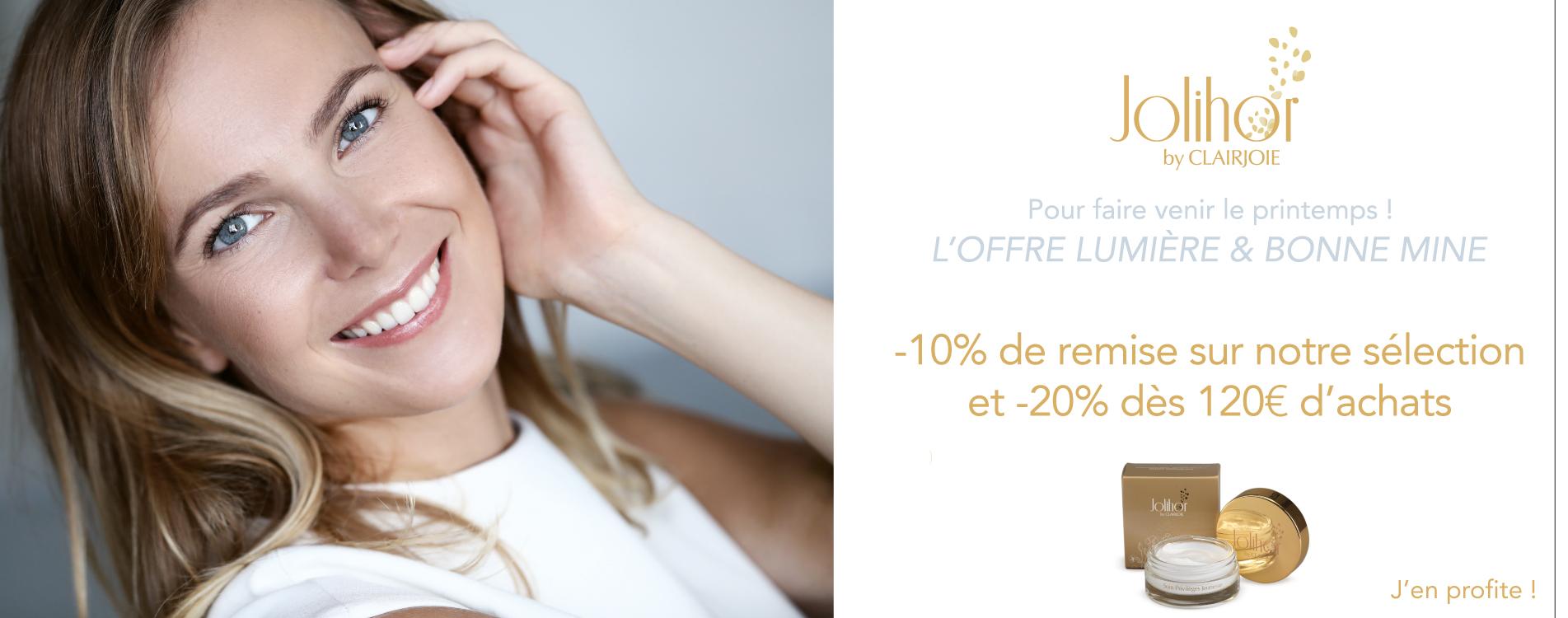 -20% pour illuminer le teint
